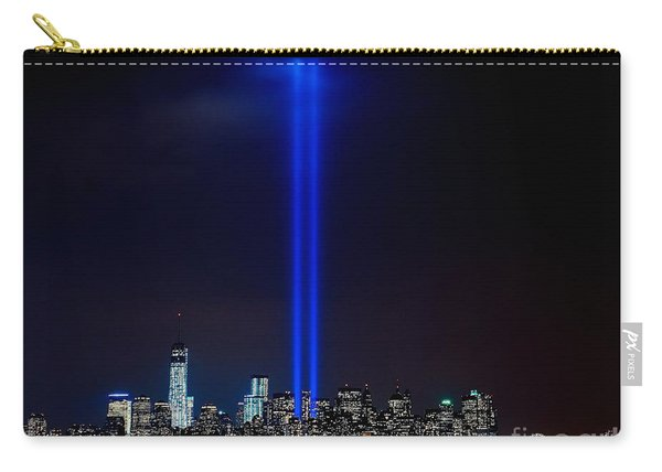 Lights Over Nyc Carry-all Pouch