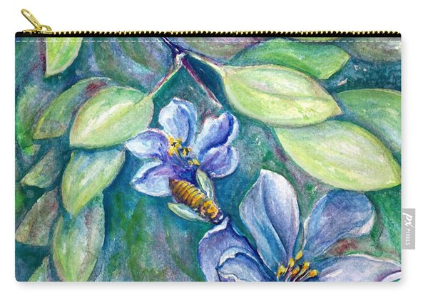 Lignum Vitae Carry-all Pouch