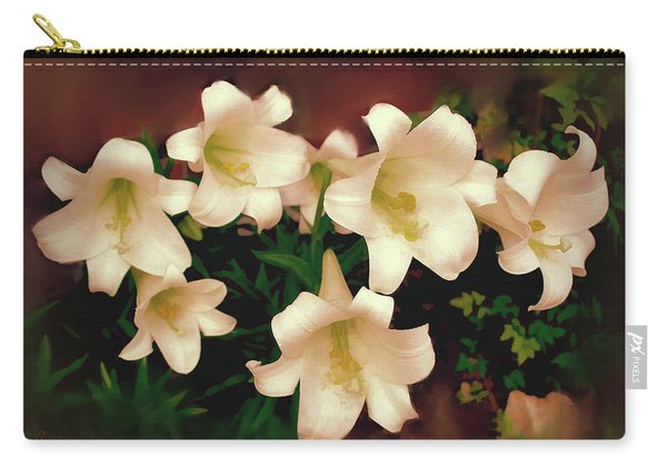 Lilies Aglow Carry-all Pouch