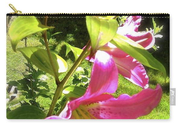 Lilies In The Garden Carry-all Pouch