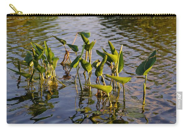 Lillies In Evening Glory Carry-all Pouch