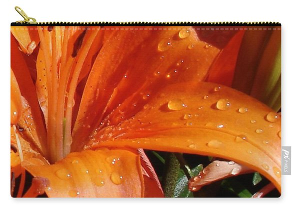 Lily Drops Carry-all Pouch