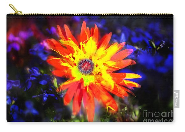 Lily In Vivd Colors Carry-all Pouch