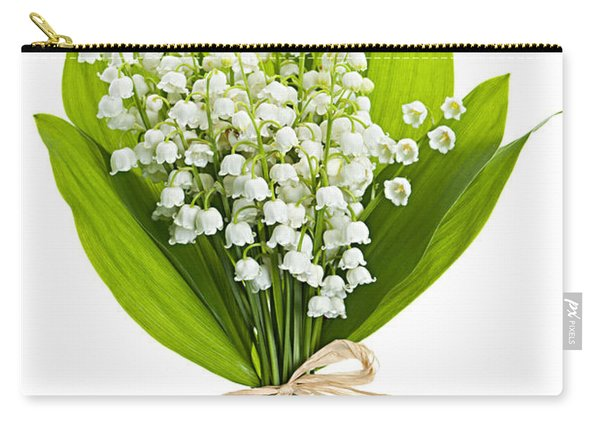 Lily-of-the-valley Bouquet Carry-all Pouch