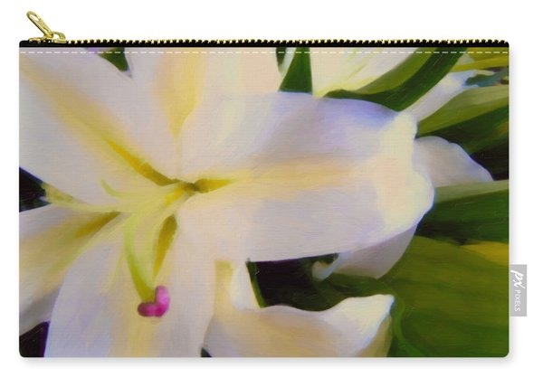 Lily Portrait Carry-all Pouch