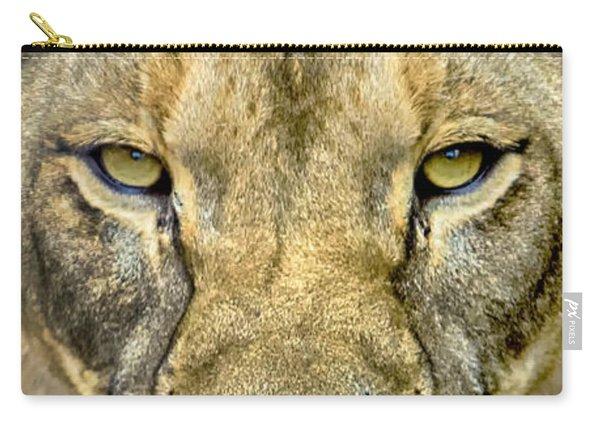 Lion Closeup Carry-all Pouch