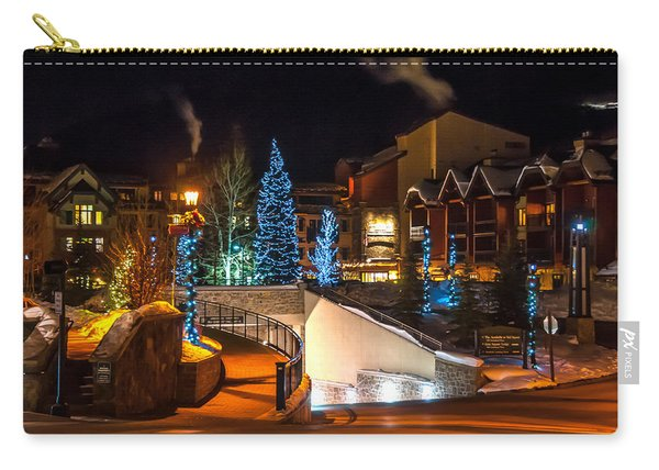 Lions Head Village Vail Colorado Carry-all Pouch