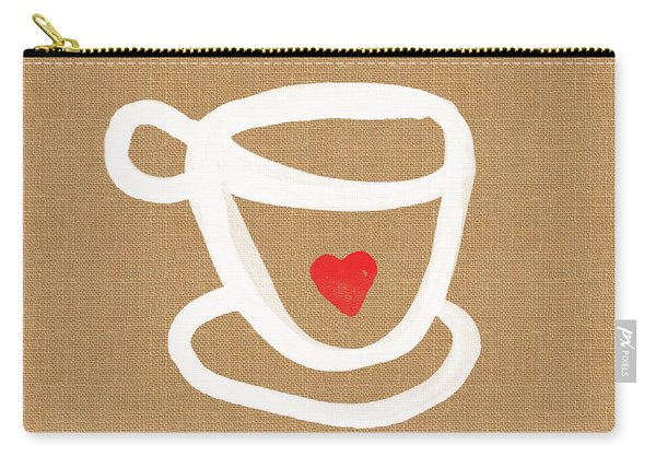 Little Cup Of Love Carry-all Pouch