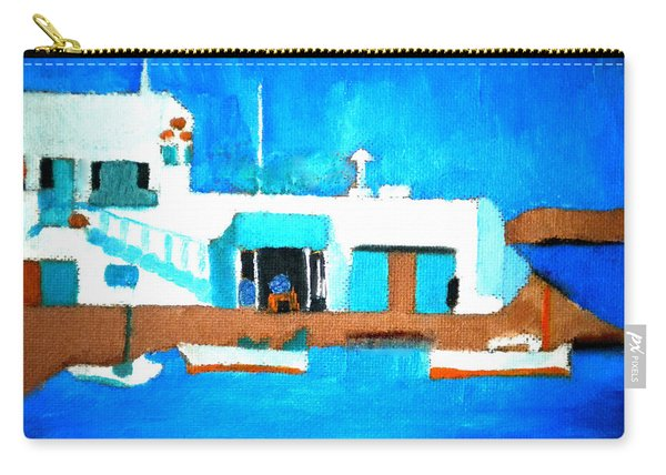 Paros  Cute Spot On Greek Island Carry-all Pouch