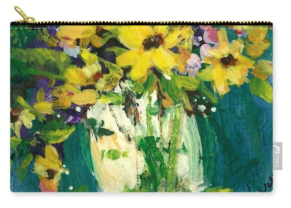 Little Daisies Carry-all Pouch