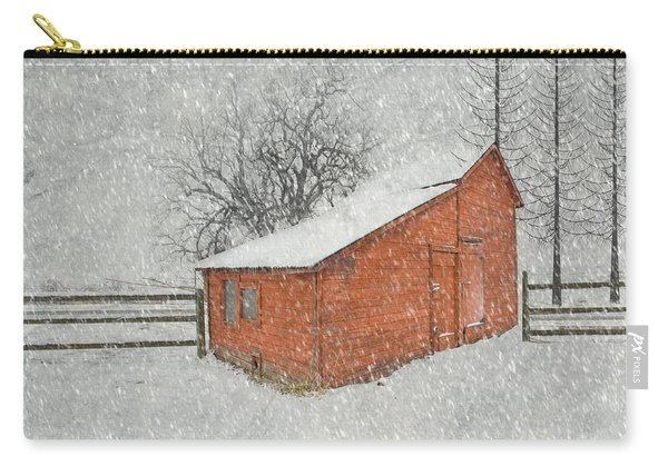 Little Red Barn Carry-all Pouch