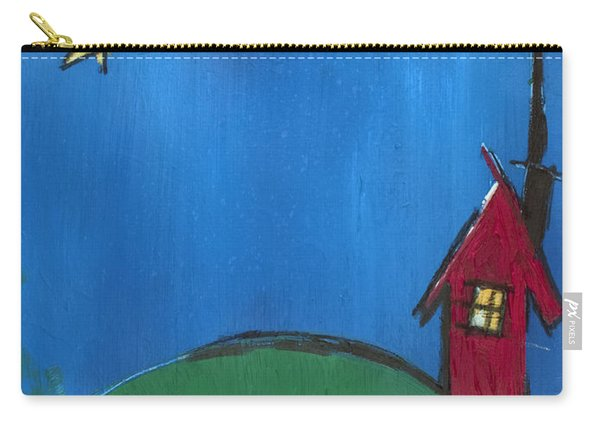 Little Red House Carry-all Pouch