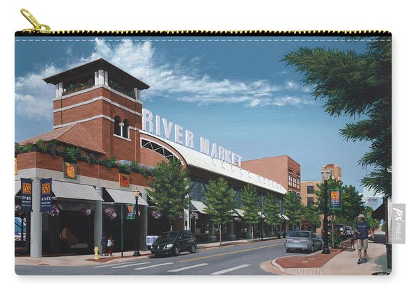 Little Rock River Market Carry-all Pouch