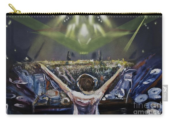 Live Dj Carry-all Pouch