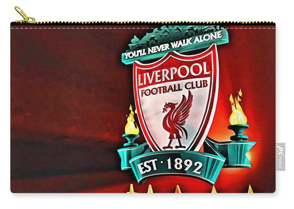 Liverpool Football Club Poster Carry-all Pouch