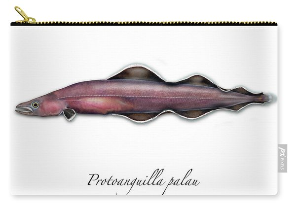 Living Fossil Eel - Protoanguilla Palau Carry-all Pouch