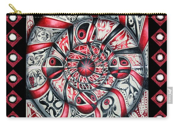 Living Spiral Carry-all Pouch