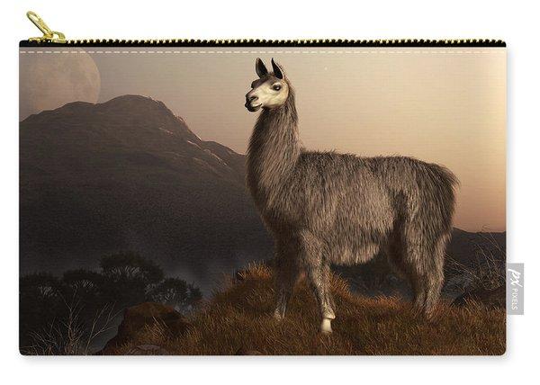 Llama Dawn Carry-all Pouch