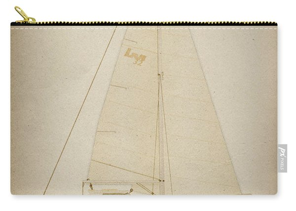 Lm Historic Sailboat Carry-all Pouch