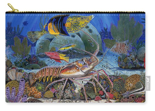 Lobster Sanctuary Re0016 Carry-all Pouch