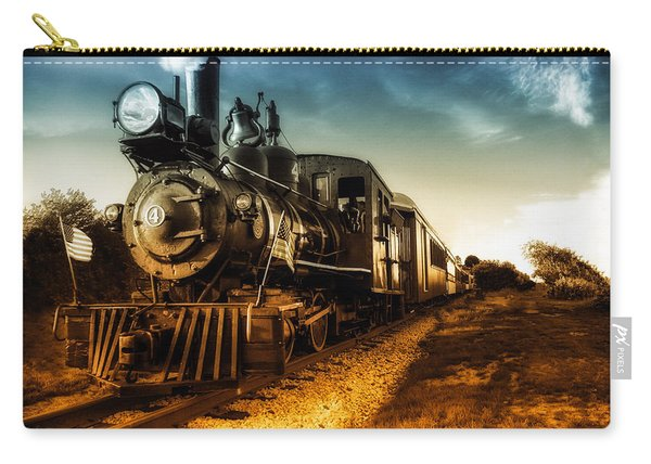 Locomotive Number 4 Carry-all Pouch