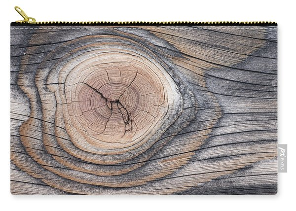 Lodgepole Pine Wood Patterns Carry-all Pouch