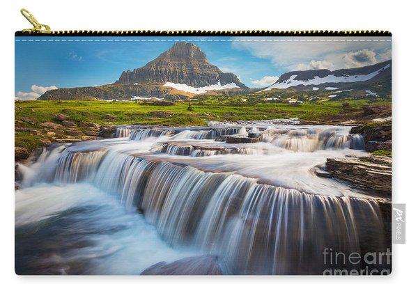 Logan Pass Falls Carry-all Pouch