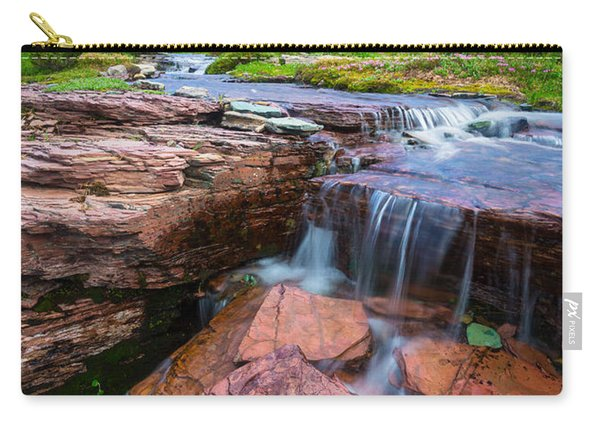Logan Pass Waterfall Carry-all Pouch