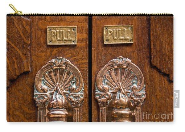 London Coliseum Doors 02 Carry-all Pouch