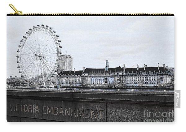 London Eye Mono Carry-all Pouch