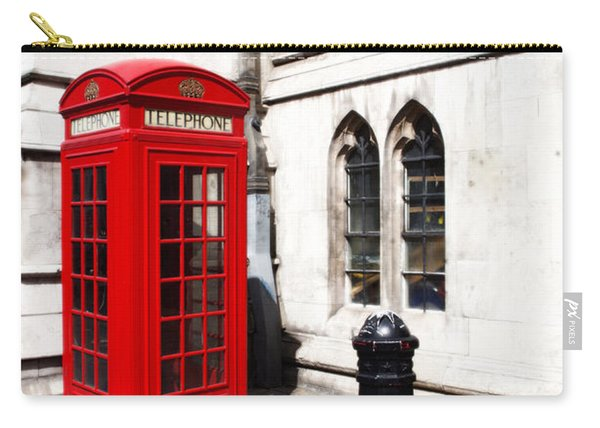 London Telephone Box Carry-all Pouch