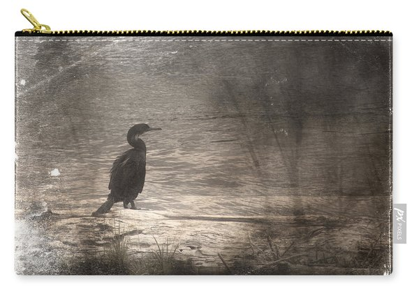 Lone Cormorant Carry-all Pouch
