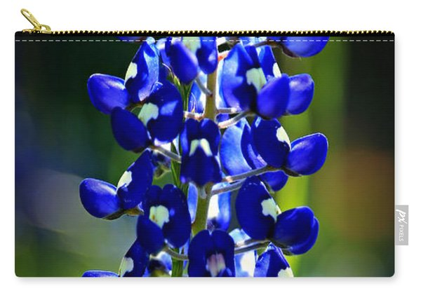 Lone Star Bluebonnet Carry-all Pouch