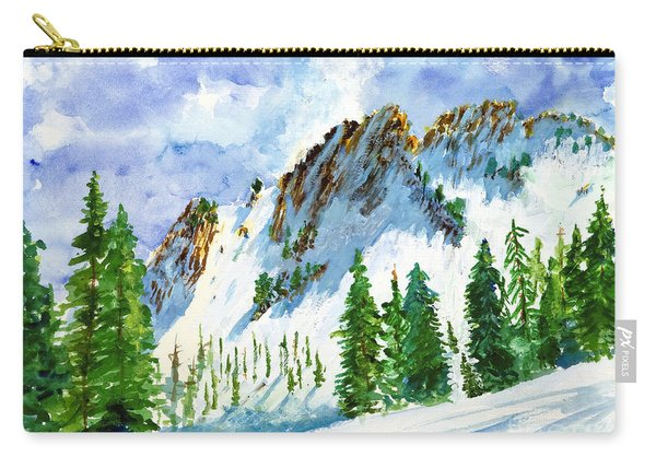 Lone Tree In The Afternoon Carry-all Pouch