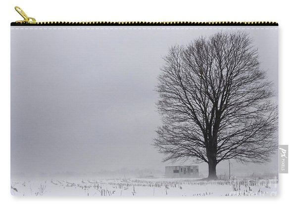 Lone Tree In The Fog Carry-all Pouch