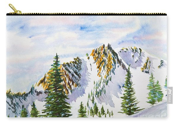 Lone Tree In The Morning Carry-all Pouch
