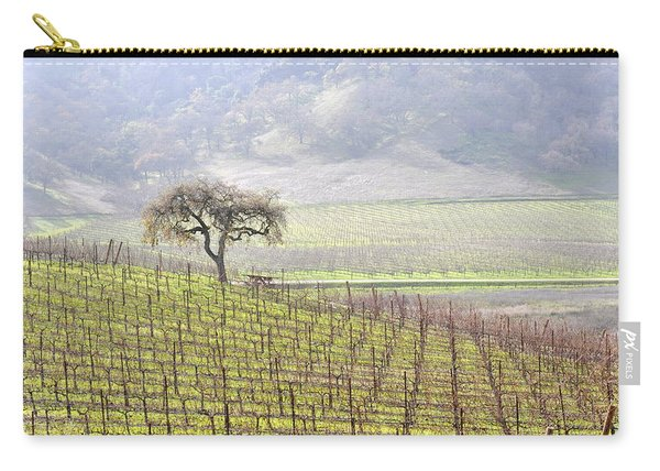 Lone Tree In The Vineyard Carry-all Pouch