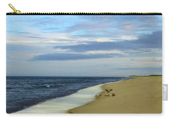 Lonely Cape Cod Beach Carry-all Pouch