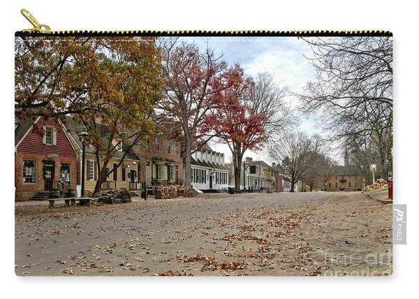Lonely Colonial Williamsburg Carry-all Pouch