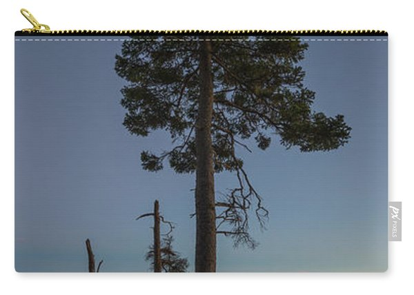Lonely Tree Overlooking The Ocean Carry-all Pouch