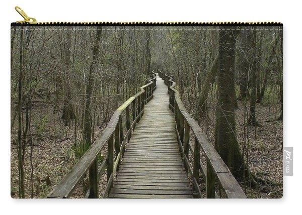 Long And Winding Road Carry-all Pouch