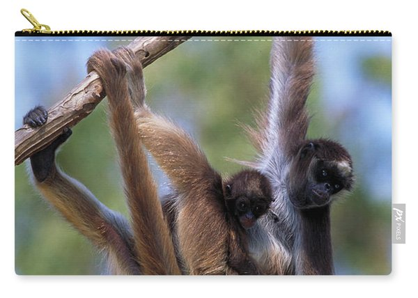 Long-haired Spider Monkey Carry-all Pouch