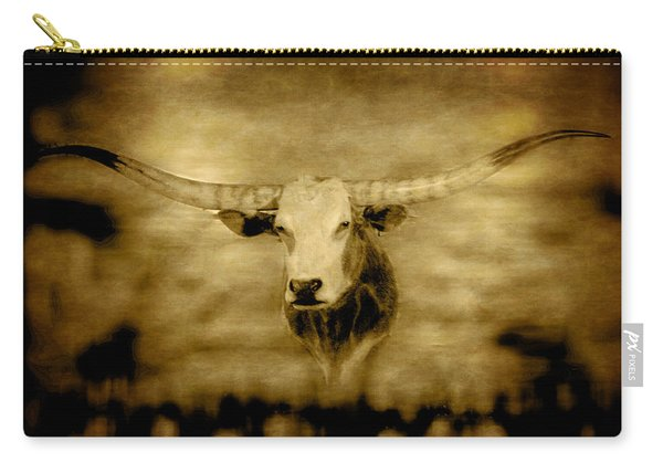Longhorn Bull Carry-all Pouch