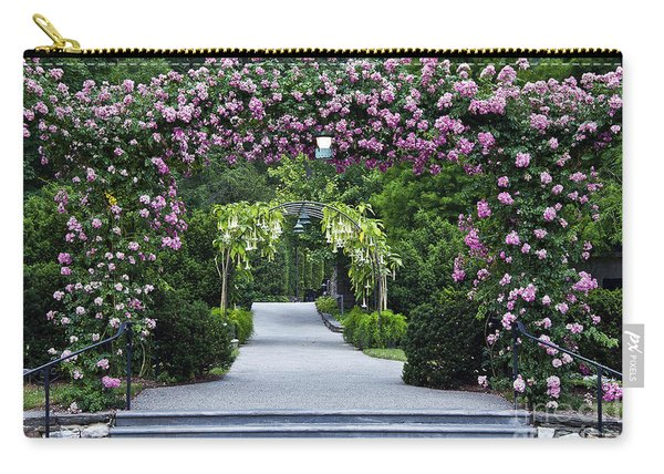 Longwood Rose Arbor Carry-all Pouch