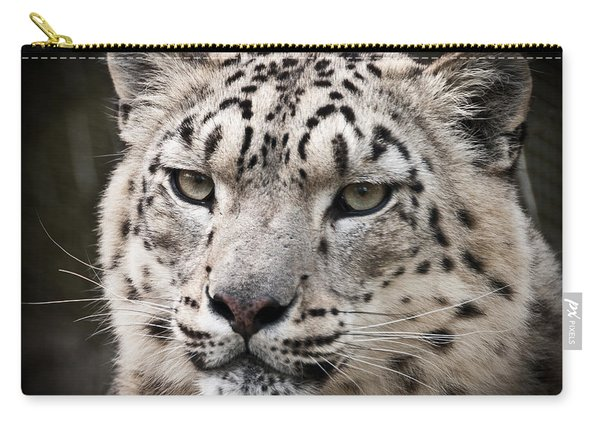 Look Into My Leopard Eyes Carry-all Pouch