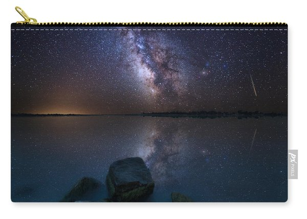 Looking At The Stars Carry-all Pouch