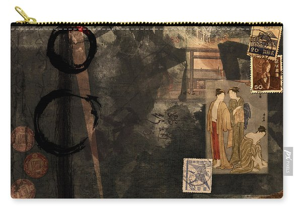 Looking Backward Carry-all Pouch