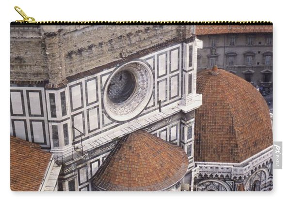 Looking Down At The Duomo Carry-all Pouch