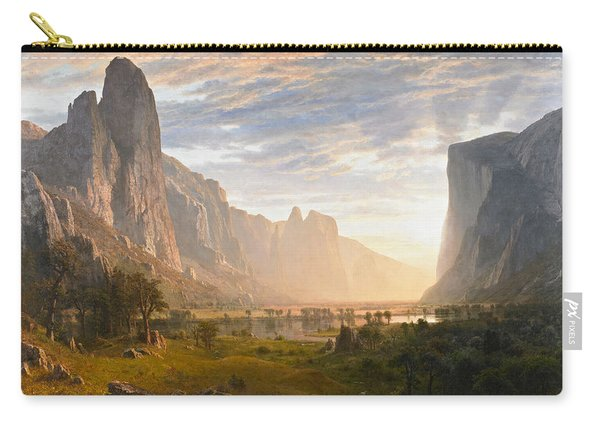 Looking Down Yosemite Valley California Carry-all Pouch