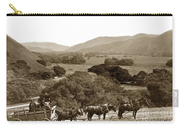 Looking Up The Carmel Valley California Circa 1880 Carry-all Pouch
